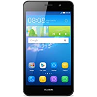 "Huawei Y6 Smartphone, Display 5.0"" HD, IPS, 2 GB RAM, 8 GB Memoria Interna, Dual SIM, Fotocamera 8 MP, Android 5.1, Nero"