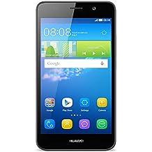 """Huawei Y6 - Smartphone libre de 5"""" (Qualcomm S210 Quad Core a 1.1 GHz, 1 GB de RAM, 8 GB de memoria interna, Single SIM, Android), negro"""