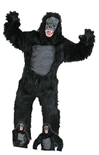 Gorilla Ganzkörperkostüm 6-tlg