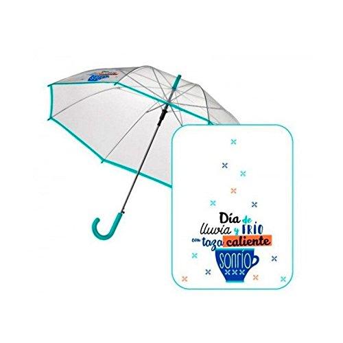 Paraguas 58 cms. automático Baggy TAZA M.VD# AST6330