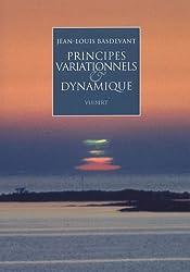 Principes variationnels & dynamique