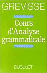 Cours d'analyse Grammaticale : Guide