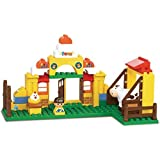 Sluban Happy Farm Building Block Toys For Kids 85 Pieces Multi Color Lego Compatible Educational Gift Toy Set M38-B6006