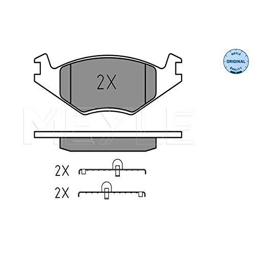 Meyle 025 208 8717 Kit de plaquettes de frein, frein à disque