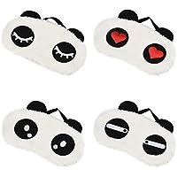 Eizur Augenklappe Augenmaske Schlafmaske Plüsch Cute 3D Panda Weich und bequem mit Verstellbaren Trägern Total... preisvergleich bei billige-tabletten.eu