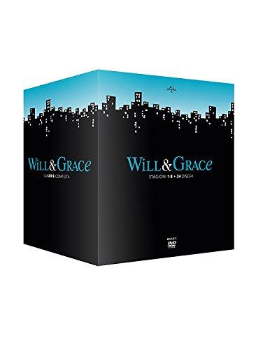 Will & Grace - Collezione Completa Stagioni 1-8 (Box Set) (34 DVD)