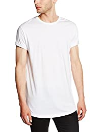 Urban Classics Herren T-Shirt Shaped Long Tee mit Rundhals