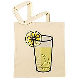 Erido Limonade Einkaufstasche Wiederverwendbar Strand Baumwoll Shopping Bag Beach Reusable