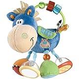 Playgro Plüschrassel Pferd, Lernspielzeug, Ab 3 Monaten, BPA-frei, Playgro Toy Box Pferd Klipp Klapp