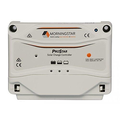 Morningstar ProStar PS-30 PWM Solar Charge Controller, 30 Amp 12/24 Volts Morning Star Solar Charge Controller