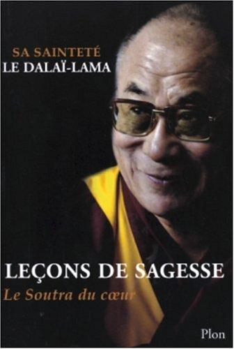 LECONS DE SAGESSE