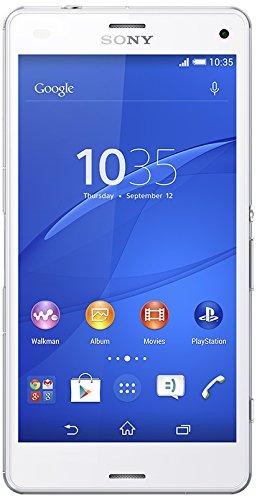 Sony Xperia Z3 Compact Smartphone Débloqué 4G (Ecran : 4.6 pouces - 16 Go - IP65 / IP68 - Android 4.4 KitKat) Blanc