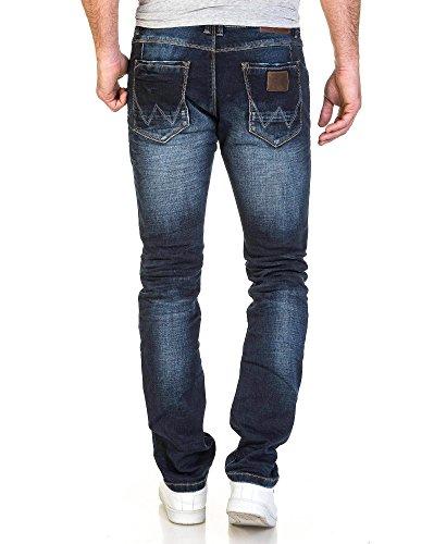 BLZ jeans - verblasste blaue Jeans Mode-Mann Blau
