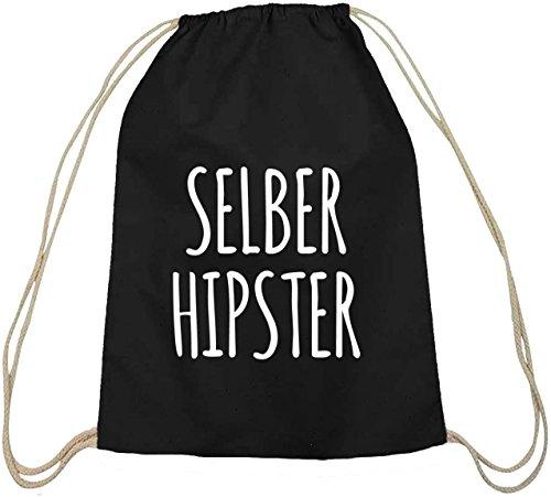 Selber Hipster Festival Turnbeutel