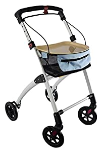 Days Breeze White Indoor 4 Wheel Rollator