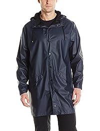RAINS Long Jacket, Manteau Homme
