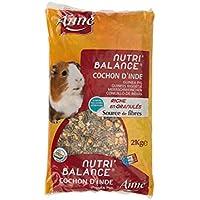 Aime Nourriture Nutri'Balance pour Cochon D'inde 2 Kg - Lot de 2