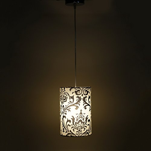 Rajwada Design White and Black Modern and Decorative Hanging Lamp
