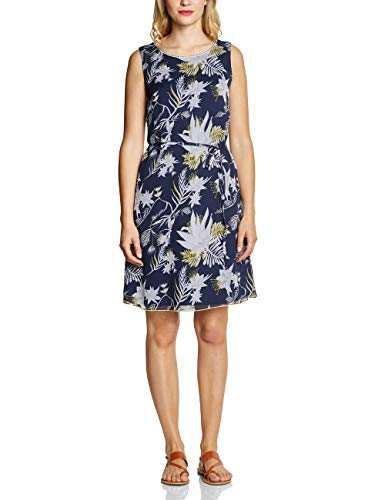 Street One Damen 142423 Kleid, deep Blue, (Herstellergröße:38)
