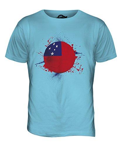 CandyMix Samoa Fußball Herren T Shirt Himmelblau