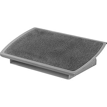 3M Adjustable Ergonomic Foot Rest - Charcoal Black