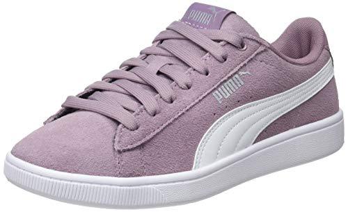 Puma Puma Vikky V2, Damen Sneakers, Violett (Elderberry-White-Puma Silver), 38 EU (5 UK)