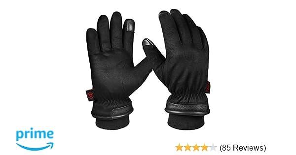 Herren  Handschuhe  Wärme gefüttert 100/%  Echt leder Handschuhe  //nr.0100//