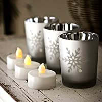Set of 6 Tea Light LED Candle
