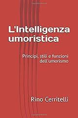 L'intelligenza umoristica: Principi, stili e funzioni dell'umorismo Copertina flessibile