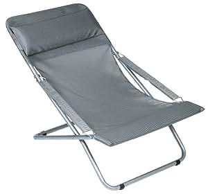 lafuma lfm2207 fauteuil inclinable transabedxl car tube acier et assise batyline. Black Bedroom Furniture Sets. Home Design Ideas