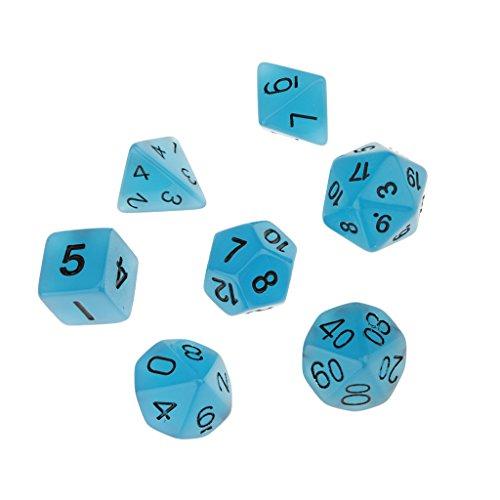 7pcs-resplandor-oscuridad-dados-d4-d6-d8-d10-d12-d20-de-d-d-juego-de-rol-ajustado-azul
