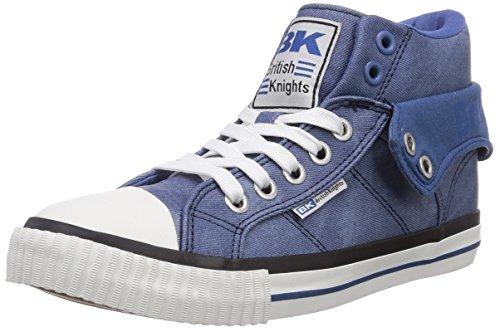 British Knights Roco, Sneaker alta unisex adulto Blu (Blau (Blue 01))