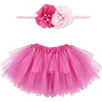 iiniim Bambina Gonna Tutu e Fascia Fotografia Puntelli (Costumi Birthday Party Dress)