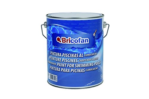 Cofan 15002398 - Pintura piscinas clorocauchó (5 kg) color azul oscur