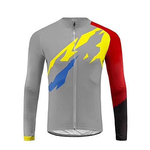 Uglyfrog Magliette Jersey Uomo Mountain Bike Manica Lunga Camicia Top Abbigliamento Ciclismo CXMX05F