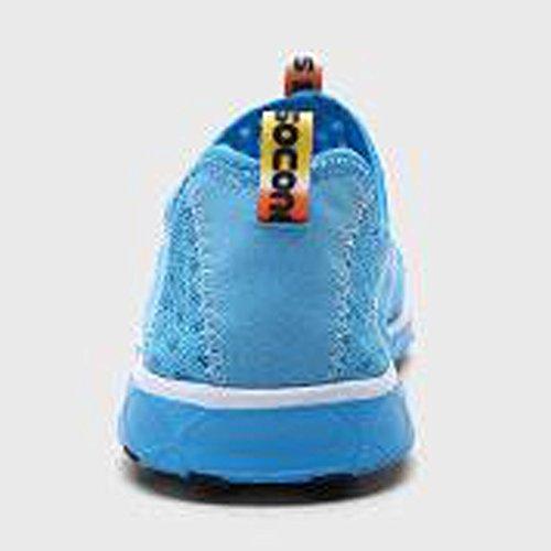 Surf Sapatos Mulheres Secagem De Água De Aqua Unisex Do De De Praia De Sapatos Rápida Malha Homens Sapatos Piscina Azul Respirável wHqnAXSS