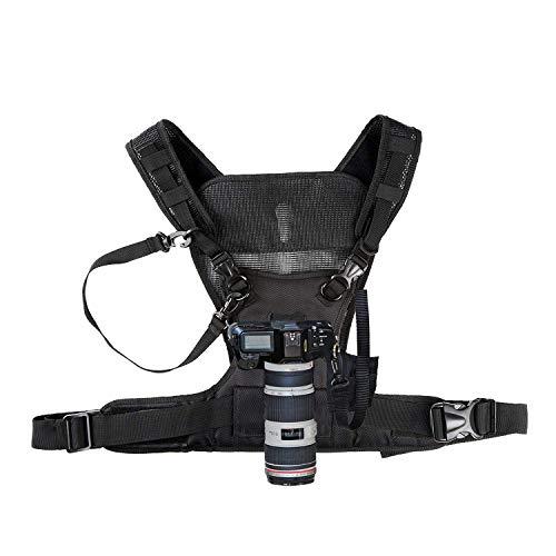 Nicama fotocamera dual trasporto fotografo Vest per Canon Nikon Sony Pentax Sigma Panasonic Olympus DSLRS