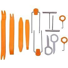 Juego de 12 piezas para retirar partes del salpicadero y carrocería de un coche, herramientas de moldura y de eliminación.