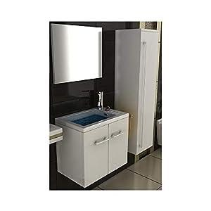 Waschbeckenunterschrank Weiß 50cm Günstig Online Kaufen Dein Möbelhaus