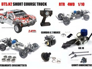 RC Short Course Truck kaufen Short Course Truck Bild 1: Short Course Truck 1 10 Off Road mit Verbrennungsmotor Go 18 A 2 Gang Radio 2 4 GHz 4 WD RTR RH1009 DT5 N 2 VRX*