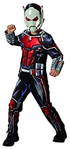 Rubies 640487M Marvel Avengers Ant-Man Deluxe - Disfraz infantil para niño, talla M