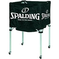 Spalding - Cesta con ruedas para 15 balones