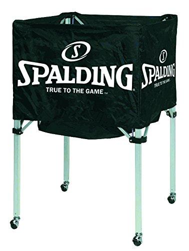 Spalding Ballwagen für 15 Bälle 68-450, Schwarz, 1, 300157501