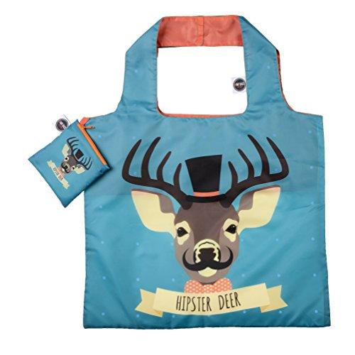 ANY BAGS Einkaufstasche/Tragetasche Hipster Deer 48*41cm