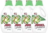 Ariel Power Gel Washing Detergent - Pack of 4 Bottles (4 x 3L)