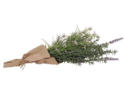 meindekoartikel Wiesenblumen in Tüte (Kunstblume) Grün 16x40cm