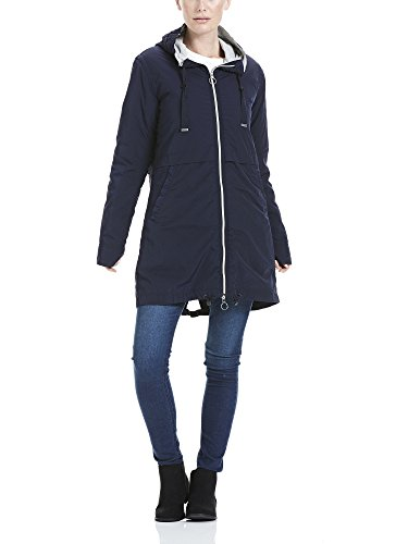 Bench Damen Mantel 2IN1 Parka with Det: Lining, Blau (Maritime Blue Bl193), 38 (Herstellergröße: M)