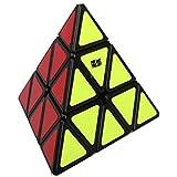 Creation® Moyu Pyraminx cubo de la velocidad rompecabezas del cubo negro-1PC