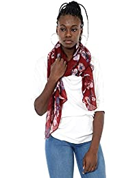 Mers Style - Fular Estampado Floral para Mujer