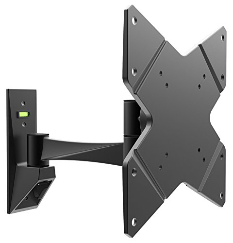 Vesa 100 200 Wall X Mount (RICOO Monitorhalterung Wand Wandhalterung Monitor Schwenkbar Neigbar S1622B TFT Halterung PC Computer Bildschirm Fernseher Wandhalter 38cm/13